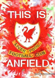 This is Anfield liverpool watercolor drawing