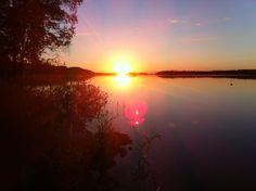Summer night in a lakeside in North Karelia, Finland. Pielinen lake: http://en.wikipedia.org/wiki/Pielinen
