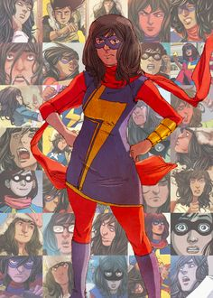Kamala Khan / Ms. Marvel << Just read the first volume of comics and it is hilarious!