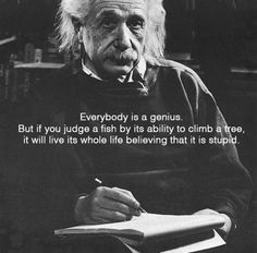 Albert Einstein - totes & I am passionate about reinforcing this fact! Nature has more intelligence in one molecule than some of us have in our whole minds!