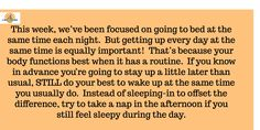 "Hows' that challenge:   ""GO TO BED AT THE Exact Same TIME EACH NIGHT"" going for you so far? #RSomaPerformance #Sleep"