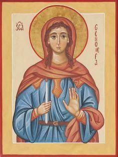 St. Genevieve by Valentina Puletto