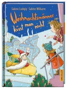 Weihnachtsmänner küsst man nicht. Ab 8 Jahren.