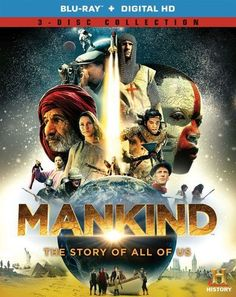 Mankind: The Story of All of Us [3 Discs] [Blu-ray]