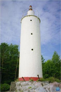 Naissaare harbour light beacon, Naissaar island, Estonia