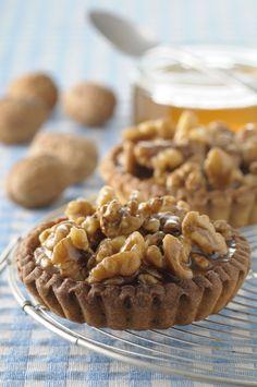 Tartelettes aux noix et au miel