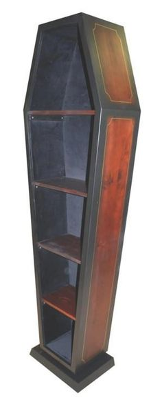 coffin book case