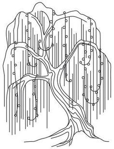Enchanted Garden - Willow Tree_image