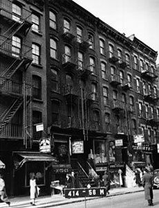1940 - NYC, Orchard St