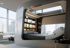 Innovative solutions, HD integrated displays and a dedicated app for a high-tech funtime bed