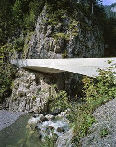 Schanerloch Bridge / Marte. Marte Architekten - Dornbirn, Austria