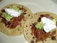 Smoky Shredded Beef Tacos- done in a slow cooker you can fix it and ...