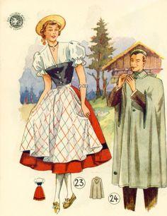 Lutterloh Dirndl 1950-11