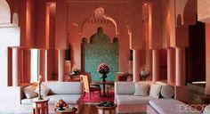 A suite at the Amanjena resort.