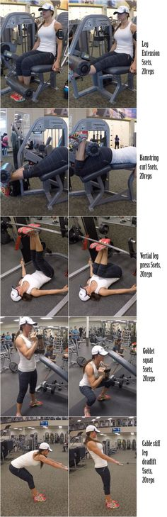 5 LEG SCULPTING EXERCISES | Fitness Food Diva
