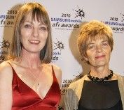 Wonderful women and award-winning filmmakers. Producers of THE STRAITS, Penny Chapman and Helen Panckhurst. http://blogafi.org/2012/02/23/producing-the-straits-penny-chapman-and-helen-panckhurst/
