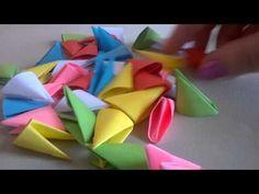 Как сделать треугольные модули - YouTube