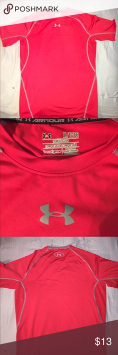 Under Armour Compression Shirt Under Armour compression shirt. Excellent used Condition. Feel free to make me an offer! Under Armour Shirts Tees - Short Sleeve