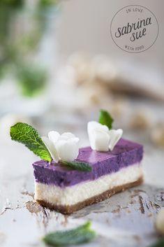 Macadamia Blueberry Cheesecake Blossoms
