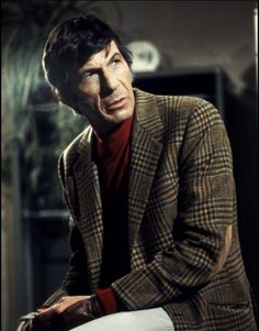Leonard Nimoy in the 1978 remake of Invasion of the Body Snatchers Sci Fi Horror Movies, Little Sport, The Man From Uncle, Zachary Quinto, Leonard Nimoy, Roll Neck, Old Movies, Rare Photos, I Movie