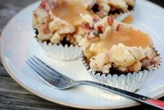 Meatloaf Cupcakes by Iowa Girl Eats
