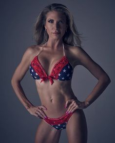 shot of Michelle @michellemiranda5.15 happy 5th of July  #photoshootday