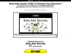 Our Course Platform Tailored for Online Marketers. Solo Ads, You Sound, Soloing, Promote Your Business, Training Courses, Toolbox, Affiliate Marketing, The Secret, Tool Box