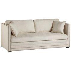 Bianca Bella Natural Linen Fabric Sofa