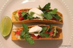 - #oventacos - ... Oven Baked Tacos, Easy Oven Baked Chicken, Baked Chicken Tacos, Chicken Taco Recipes, Tandoori Fish, Fish Tacos With Cabbage, Tikka Recipe, Cilantro Lime Sauce, Turkey Chicken