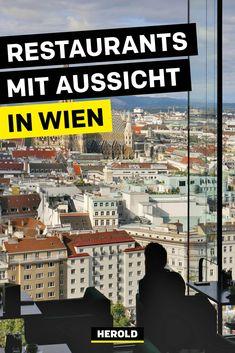 Es ist erstaunlich, wie viele Restaurants mit Aussicht es in Wien gibt – die Wiener und Touristen sehen Wien anscheinend besonders gerne von oben (oder von der Donau aus). Die 26 besten Lokale mit Ausblick über Wien möchten wir dir hier vorstellen! #wien Lokal, Central Europe, Vienna, Restaurants, Travel, Coffee Cafe, Viajes, Restaurant, Destinations