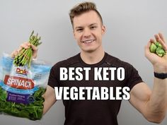 Ketosis: The Top 3 Veggies for Low Carb Diets: Thomas DeLauer - YouTube