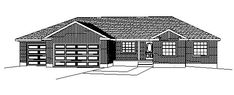 Traditional   House Plan 72420