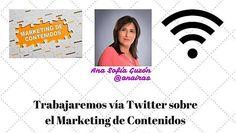 Evento vía Twitter sobre El Marketing de Contenidos con los alumnos del Ciclo Formativo de Administración y Finanzas del I.E.S. Cartuja de Granada (España).