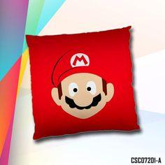 Super Mario Bros Mario & Luigi Cushion Case / by SweetDreamAngel, $13.98