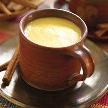 Warm up with this thick, sweet drink from Honduras. Typically made with cornmeal, water, brown sugar (piloncillo), cinnamon, vanilla, and sometimes fruit, it's served hot as dessert.