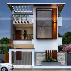 House Outer Design, House Roof Design, Best Modern House Design, House Outside Design, Bungalow House Design, Small House Design, Modern Bungalow Exterior, Modern Exterior House Designs, Exterior Design