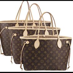 Louis Vuitton Neverfull. Gotta have the GM.