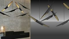 Large preview of 3D Model of Coltrane Suspension Ceiling Lamp