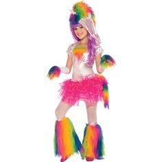 Rainbow Unicorn Girls Kids Costume - Kids Costumes
