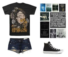 """""""QOTD- What is one food you hate?"""" by michytherockerplatypus ❤ liked on Polyvore featuring rag & bone/JEAN and Converse"""
