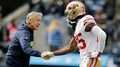 – Although Richard Sherman is now with the he hasn't fo. Student Lunches, Richard Sherman, Food Bank, San Francisco 49ers, Seattle Seahawks, Public School, Debt, Cheerleading, Football Helmets