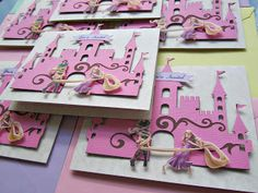 Disney Princess Rapunzel Invitations and Goody Bags