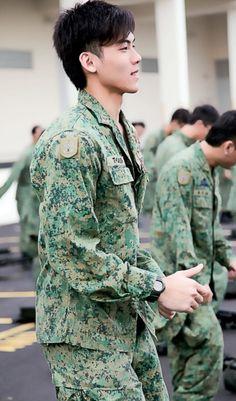 Asian Army Gay