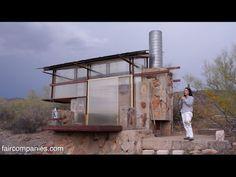 Survivalist tiny dorms at Lloyd Wright's Taliesin arq school - videos - *faircompanies