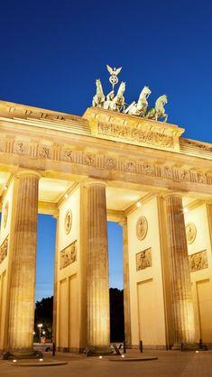 Download free HD wallpaper from above link! #Geography #BrandenburgGateWallpaper Brandenburg Gate, Hd Wallpaper Iphone, Free Hd Wallpapers, Geography, Big Ben, Places To Visit, Bucket, Building, Link