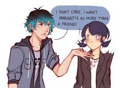 marinette and luka | Tumblr