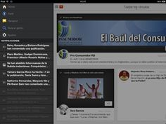 Probando Google+ for iPad..... Finalmente.