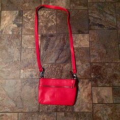 "Cross body purse ""Burnt orange"" purse. Perfect condition! No scratches or marks. No trades or PP Merona Bags"