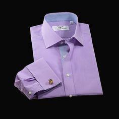 Formal Shirts For Men, Business Dresses, Dress Shirts, Fabric Material, Formal Dress, Men's Fashion, Australia, Purple, Mini