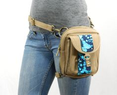 Aloha Canvas Holster Pack Thigh Holster Protected by WCCouture, $79.00   chocolate brown please!!!!!